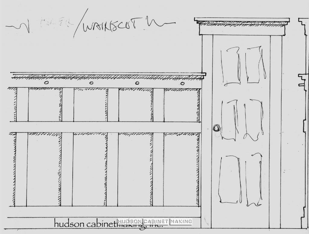 wainscot rendering