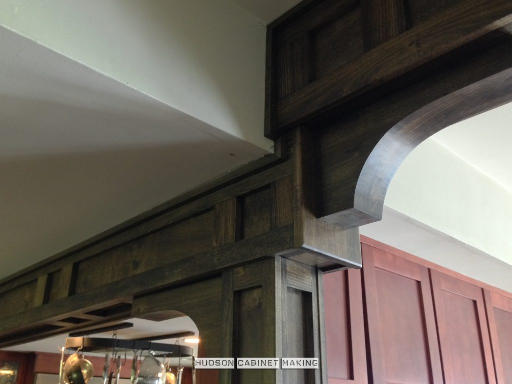 Mission style beam and column wraps