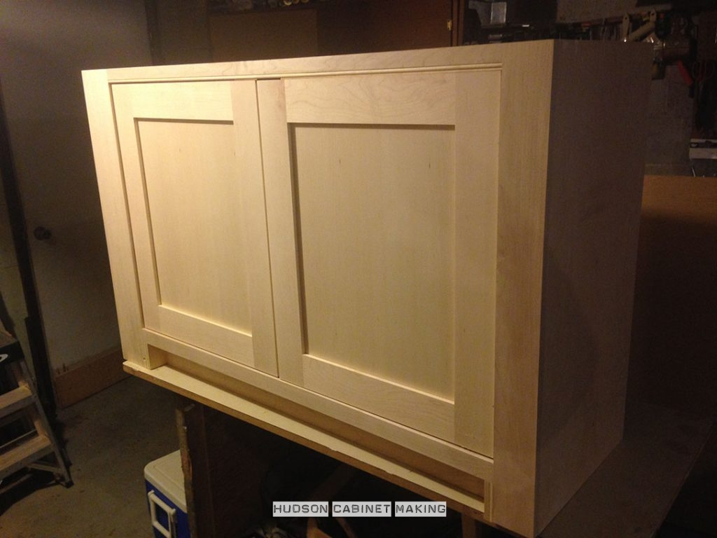 unfinished maple inset doors
